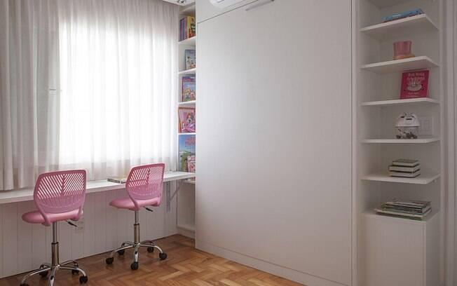 Faça um quarto de hóspede na sua casa que seja multitarefa
