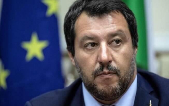 O ministro Matteo Salvini comparou racismo contra Koulibaly, do Napoli, com