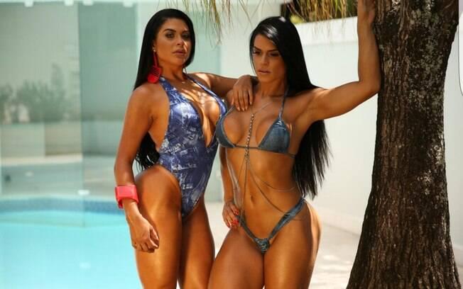 Fran Petersen e Luana Caetano