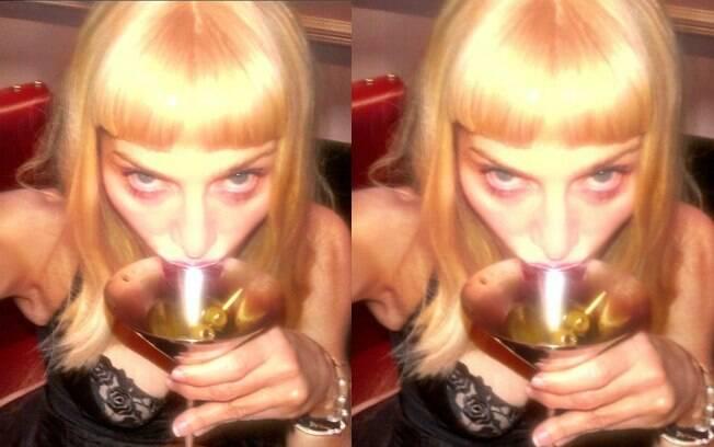 Madonna já encheu o Instagram de fotos sensuais