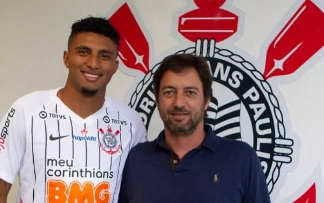 Volante Éderson é o novo reforço do Corinthians