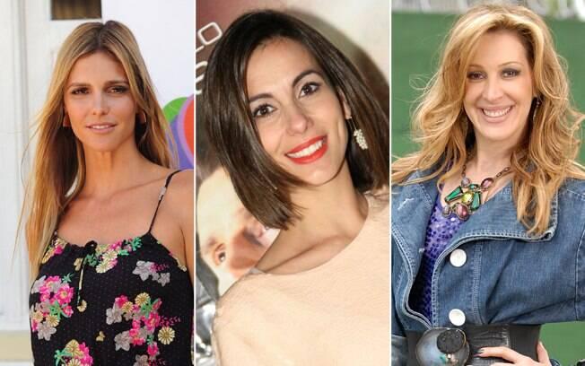 As belas Fernanda Lima, Tania Khalill e Claudia Raia