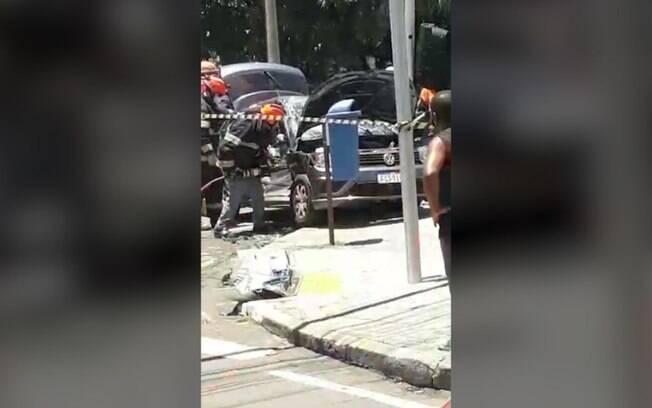 Mulher morre em acidente entre carro e caminho na Aquidab