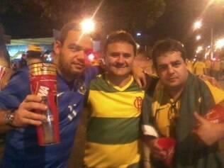 Amigos do Rio de Janeiro garantem que estarão felizes com qualquer time que ganhe a Copa, exceto a Argentina