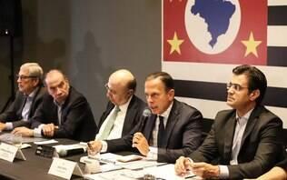 Boatos sobre retaliação do PCC em São Paulo são falsos, garante Doria