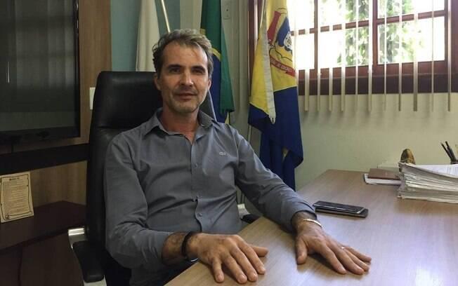 Décio Geraldo dos Santos, prefeito de Barão de Cocais, diz que a cidade