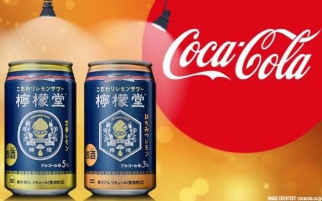 Lemon-Do, a bebida alcoólica da Coca-Cola, deve ser vendido apenas no Japão