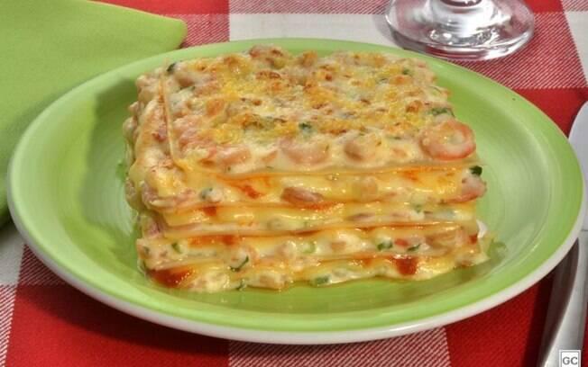 Lasanha de camarão: receita especial para as refeições em família