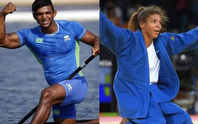 Isaquias Queiroz e Rafaela Silva são os vencedores do Prêmio Brasil Olímpico