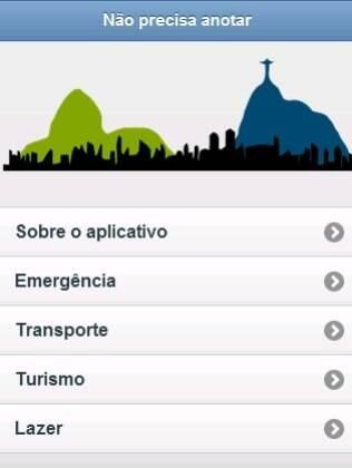 Não precisa anotar quer ser guia de endereços e telefones do Rio de Janeiro
