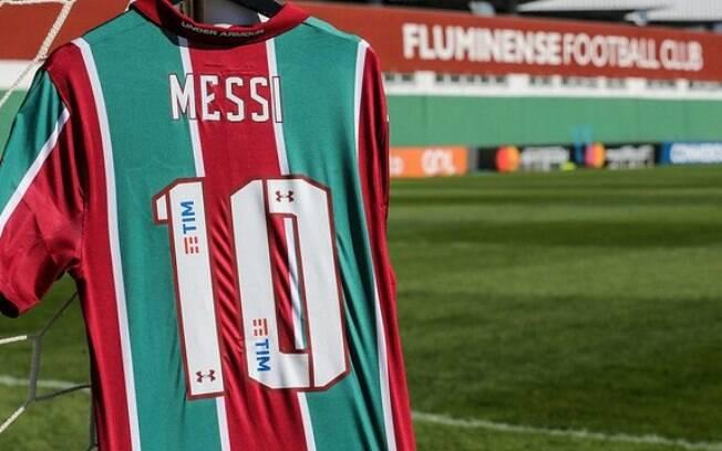 Camisa 10 de Messi no Fluminense