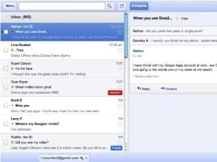 Em modo offline, aplicativo permite gerenciar mensagens recebidas no Gmail