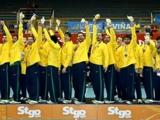 Além da taça, a seleção brasileira masculina garantiu a classificação para o Pan de Toronto, em 2015