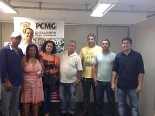 Equipe que promoveu o encontro também se emocionou com a história de Anita e Paulo