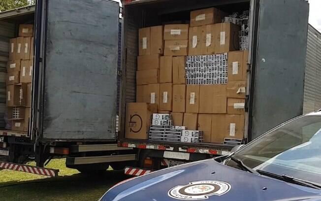 GM de Indaiatuba apreende carga de cigarro avaliada em R$ 1 milhão