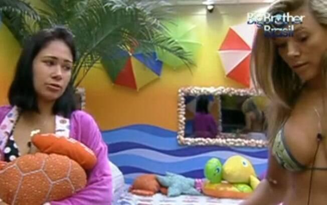 Jakeline fala sobre votos com Fabiana e Kelly no Quarto Praia