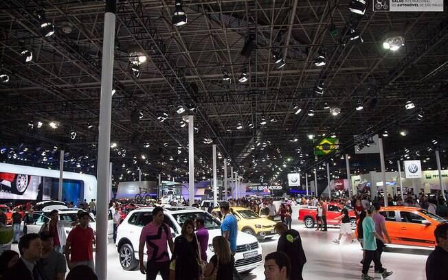 Salão do Automóvel: em 2018 promete reunir mais atrações que em 2016, quando passou a acontecer no São Paulo Expo