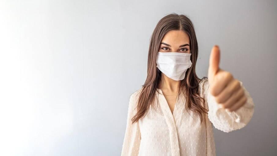 O hábito de usar máscaras passará a ser parte do cotidiano brasileiro, segundo entrevistados pela pesquisa Ipsos