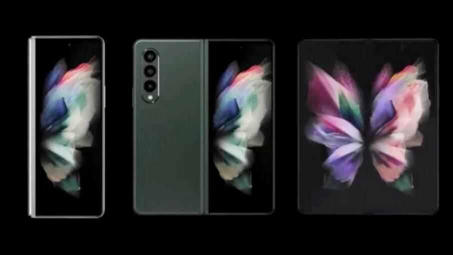 Samsung Galaxy Z Fold 3 e Flip 3 com tela dobrável são aprovados pela Anatel