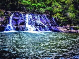 Sul de Minas. A Cachoeira da Zilda, em Carrancas, é uma das mapeadas e entra na primeira fase do guia