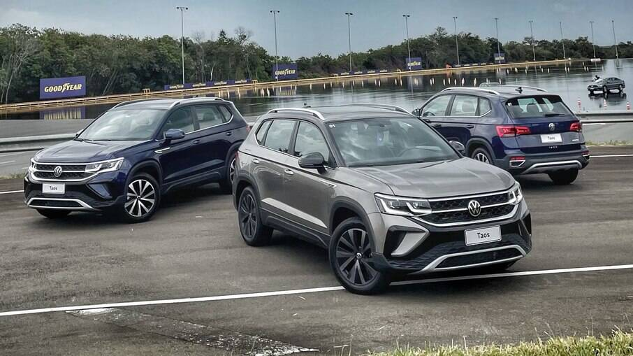VW Taos 2022: maior que T-Cross e Nivus, novo modelo chega da Argentina por preços que partem de R$ 154.990