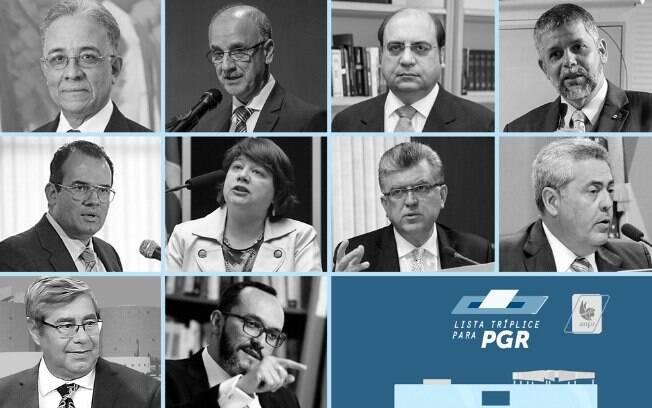 Dez candidatos concorrem à indicação para lista tríplice da PGR; votação ocorre nesta terça-feira