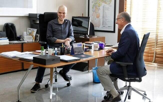 Bruno Covas defende Geraldo Alckmin e diz crer na inocência do ex-governador