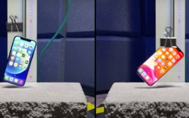 YouTubers testaram resistência do iPhone 12 e iPhone 12 Pro