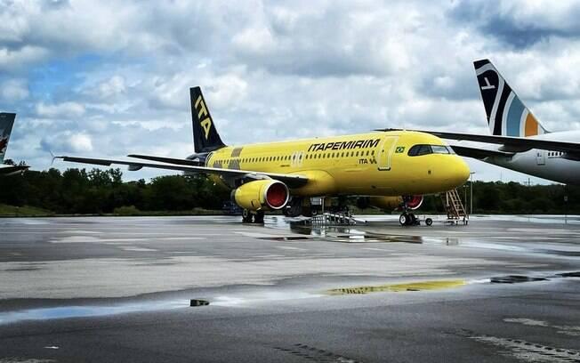 Mais uma aeronave da Itapemirim é flagrada nos Estados Unidos