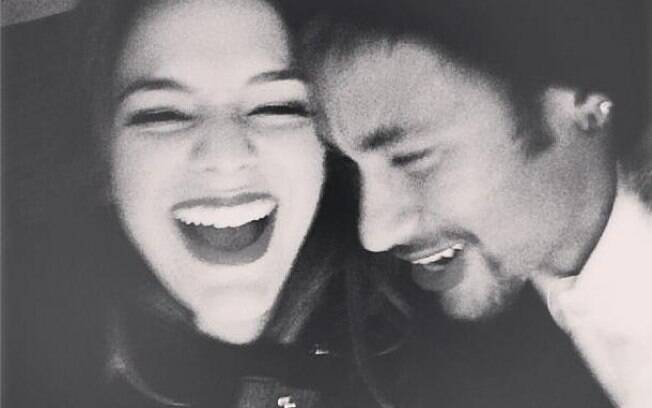 The last photo of Bruna Marquezine with Neymar, celebrating his birthday, which was also deleted.