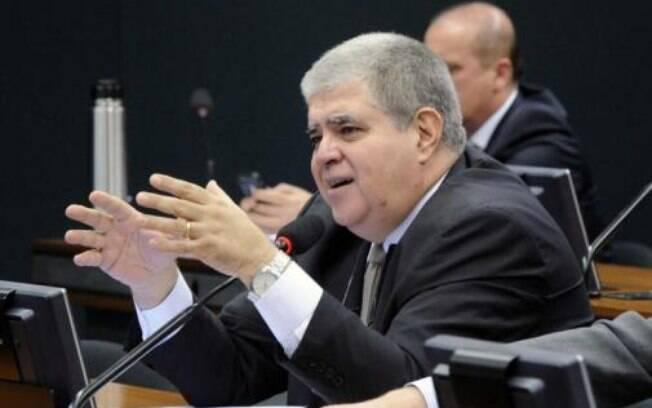 O deputado Carlos Marun (PMDB-MS), um dos representantes da ala a favor do impeachment