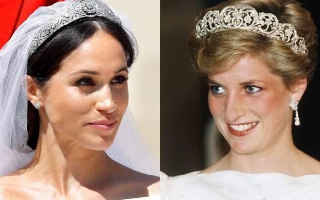 Meghan Markle é impedida de usar jóias de Princesa Diana
