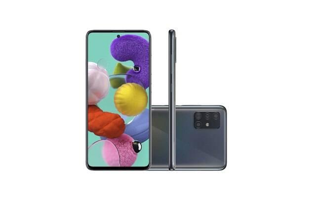 Galaxy A51 é um dos modelos que recebe a atualização
