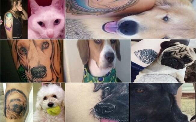 Tatuagens de animais de estimação
