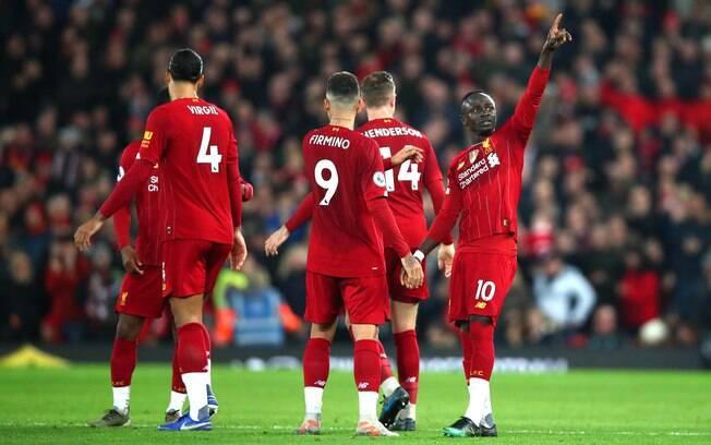 Liverpool foi o campeão da Premier League