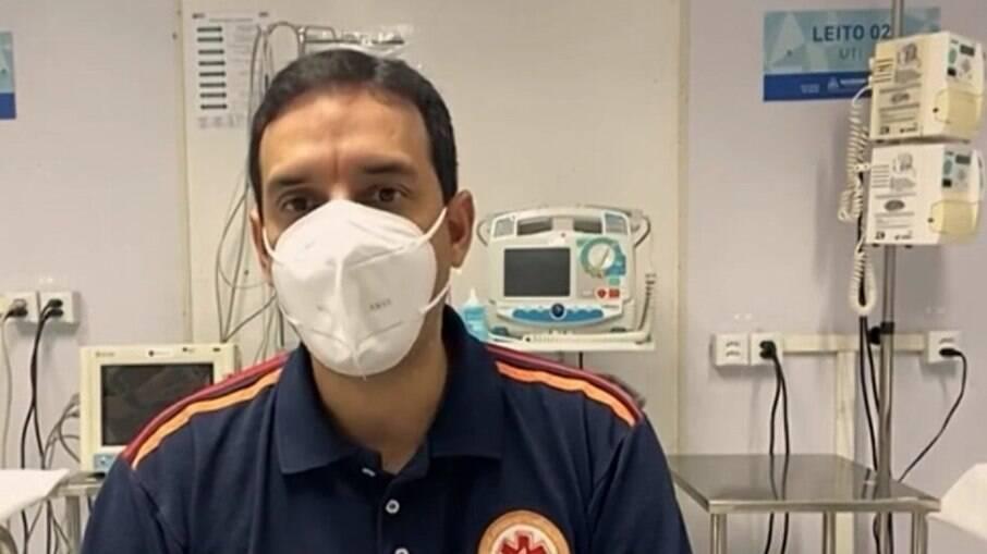 Secretário de Saúde de Salvador, Léo Prates
