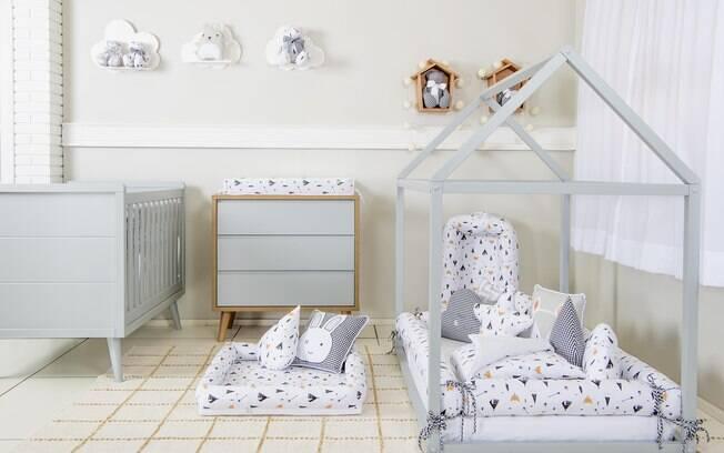 Como montar um quarto montessoriano: é importante escolher os materiais com cuidado para não prejudicar os pequenos