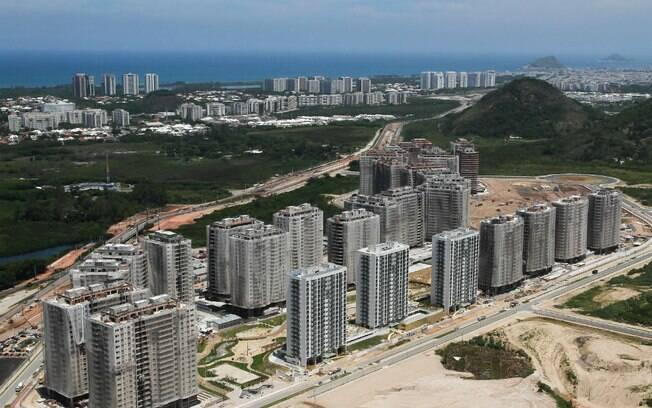 Trabalhadores eram responsáveis pelas obras no complexo viário Ilha pura, onde ficará a Vila Olímpica