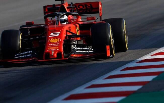 Vettel foi o mais rápido do último dia de testes da Fórmula 1