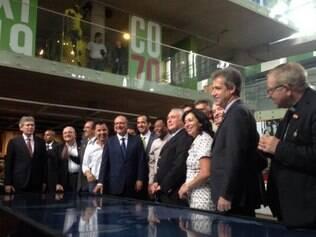 Inauguração do museu contou com importantes presenças