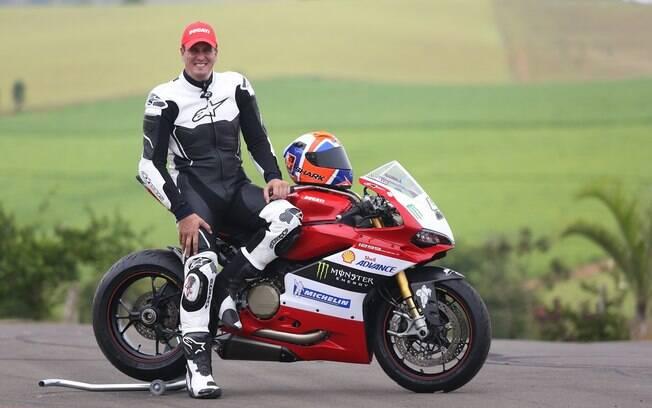 Piloto Leandro Mello atingiu 307,6 km/h com uma Ducati