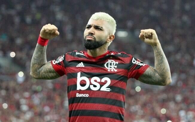 Gabigol brilhou pelo Flamengo em 2019