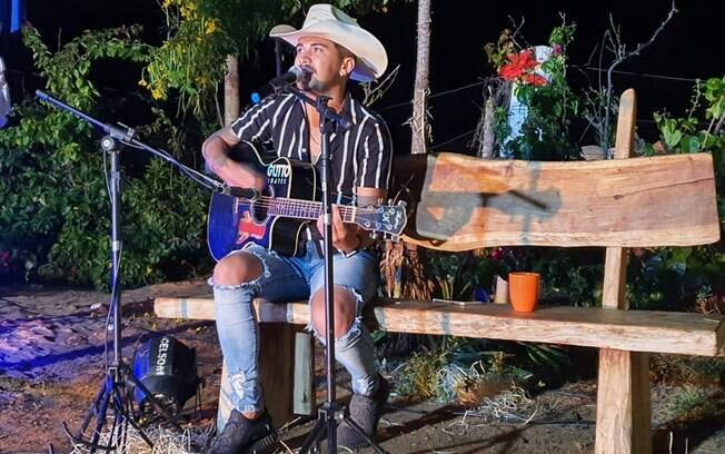 Gutto Soares na Live in Roça