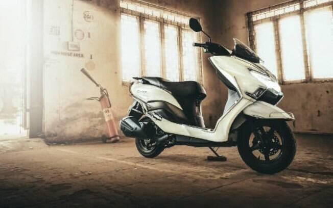 Nova Suzuki Burgman Street 150 terá desenho baseado no da versão de 125 cc cilindrada da imagem acima
