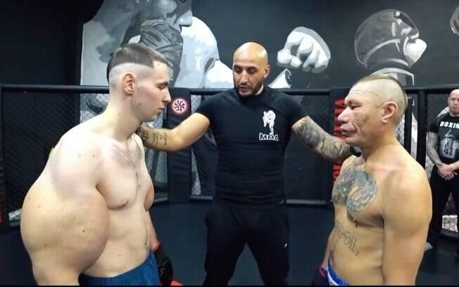 Kirill Tereshin, conhecido como Popeye russo, perdeu sua luta de estreia no MMA