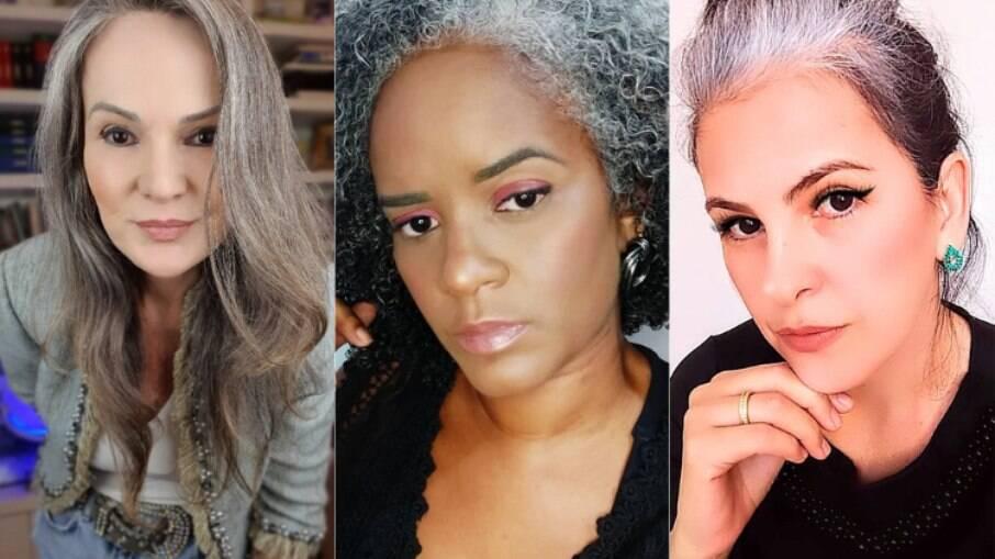 Mulheres que assumiram o cabelo grisalho passaram a participar e criar redes de apoio para outras que querem