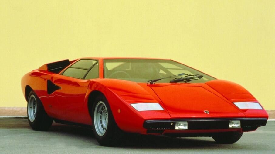 Lamborghini Countach: clássico da marca italiana foi um marco na história do automóvel pelas linhas ousadas