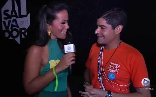 Rede Brasil acompanhou de perto a folia do Carnaval de Salvador e entrevistou prefeito ACM Neto