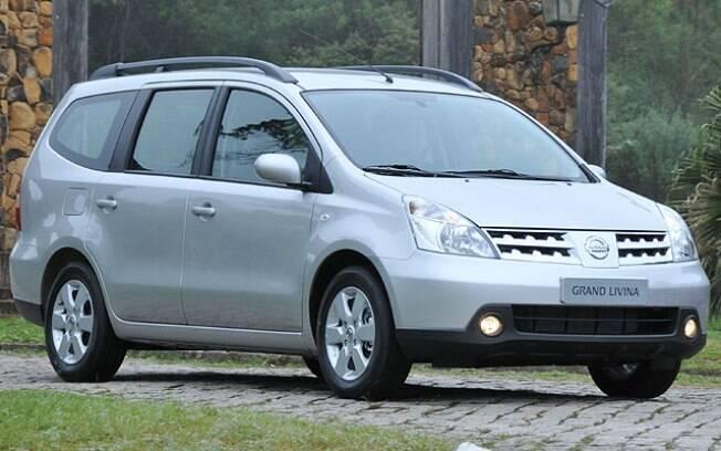 Nissan Grand Livina é uma das opções de seminovos mais em conta para levar 7 ocupantes hoje em dia