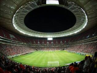 Mané Garrincha foi palco de clássico carioca no último fim de semana